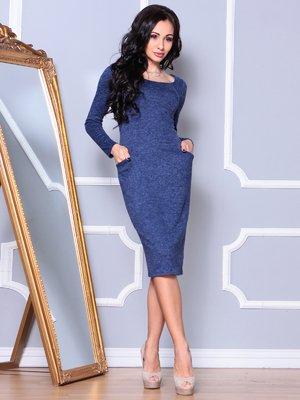 Платье синее | 4002605