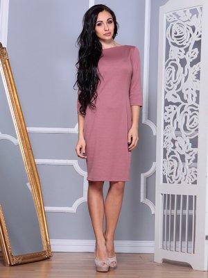 Платье цвета розовой дымки | 4002610
