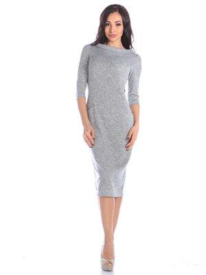 Платье светло-серое | 4002641