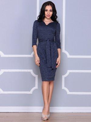 Платье темно-синее | 4002685