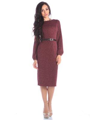 Платье бордовое | 4002716