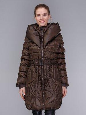 Пальто коричневое | 4009012