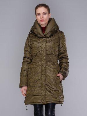 Пальто кольору хакі | 4009011