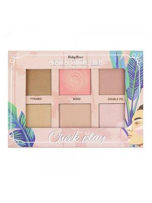 Палитра для макияжа Highlight Countur Blush (26,8 г) | 4021088