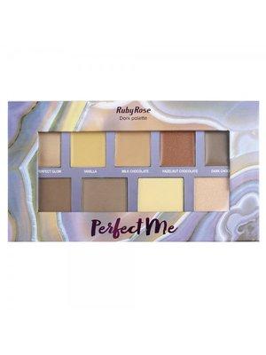 Палитра для макияжа Perfect Me, Dark pallete (26,5 г) | 4021095