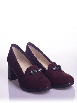 Туфлі бордові | 4018558
