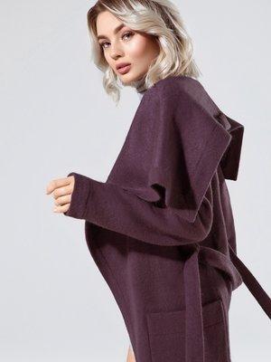 Пальто фіолетове | 4020349