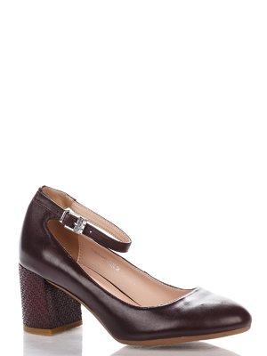 Туфли бордовые | 4018046
