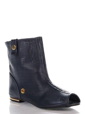 Ботинки синие | 3973264