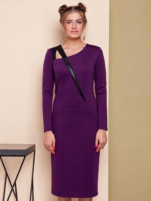 Платье фиолетовое | 4024196