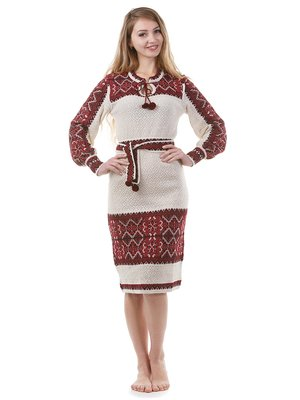 Сукня-вишиванка сіра в орнамент  e82ca9f5e24b1