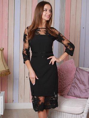 Платье черное | 4031592