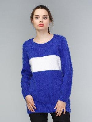 Джемпер синьо-білий | 3922162
