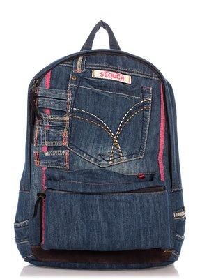 Рюкзак цвета джинса | 4017595