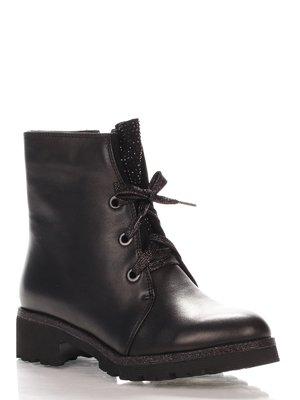 Ботинки черные   4000166