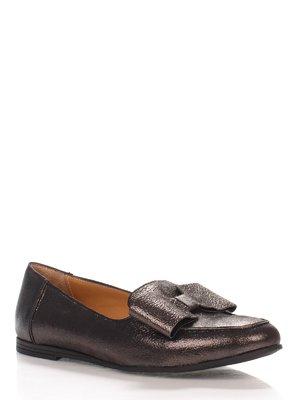 Туфли серебристые | 4000084
