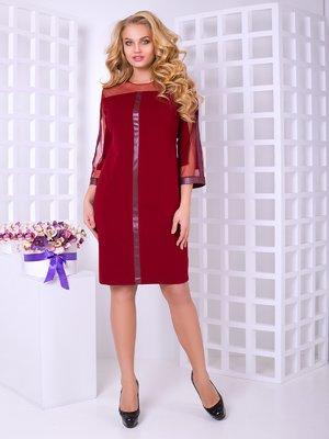 Сукня бордова | 4038254