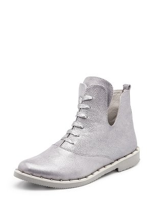 Ботинки серебристые | 4010008