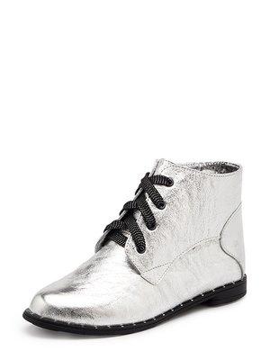 Ботинки серебристые   4042290