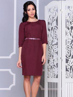 Платье темно-сливовое | 4042195