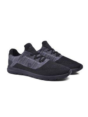 Кроссовки черно-серые | 4033565