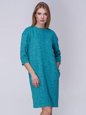 Платье бирюзовое | 4041944
