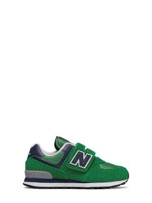 Кроссовки зеленые New Balance 574 | 4042361