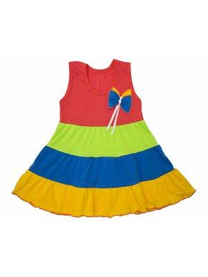 Сукня комбінованого забарвлення | 4043524