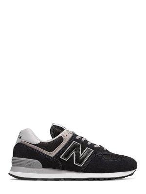 Кроссовки черные New Balance 574 | 4042417