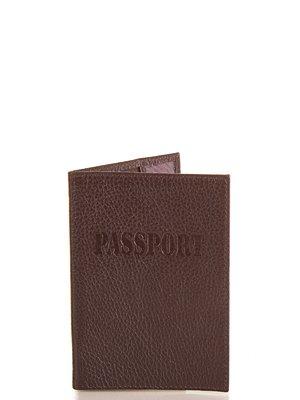 Обкладинка для паспорта коричнева | 4033329