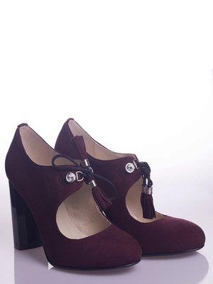 Туфли бордовые | 4048341