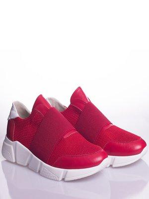 Кроссовки бордовые | 4048350