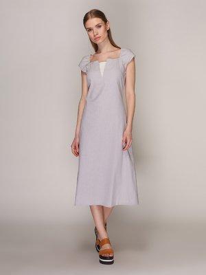 Платье светло-серое | 371191