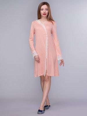 Сорочка нічна персикового кольору   4043039