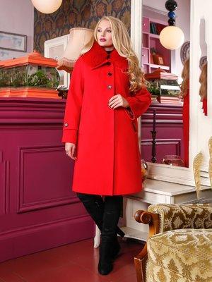 Пальто красное | 4052214