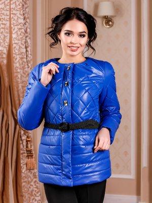 Куртка кольору електрик | 4052228