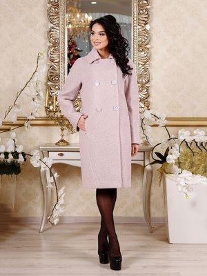Пальто розовое | 4052406
