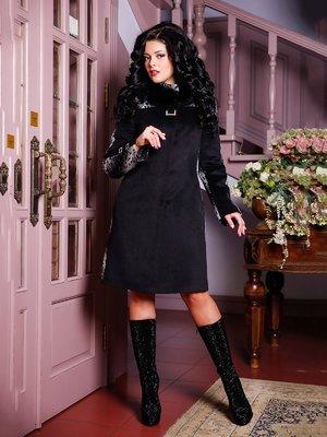 Пальто черное   4052479