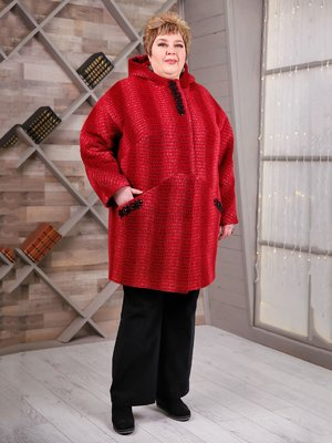 Пальто красное | 4052509