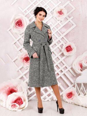 Пальто темно-серое | 4052510
