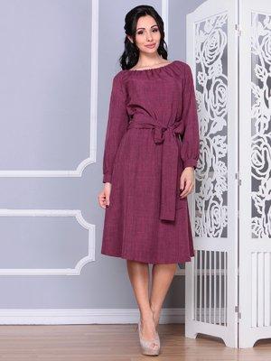 Платье сливового цвета | 4028047
