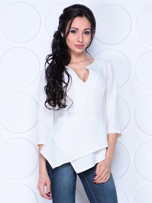 Блуза молочного цвета   4028098