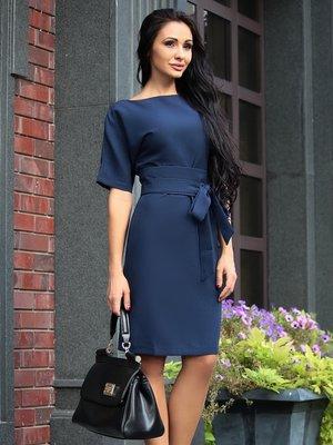 Платье темно-синее | 4028136