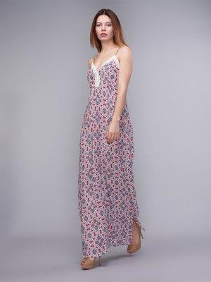 Платье в разноцветный принт   2992436