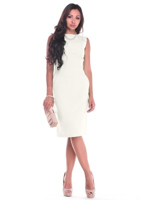 Платье молочного цвета | 4007151