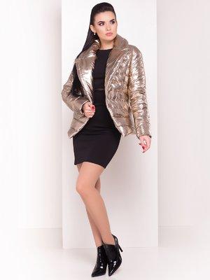 Куртка золотистого кольору   4055012