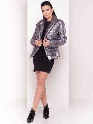 Куртка сріблястого кольору | 4055013