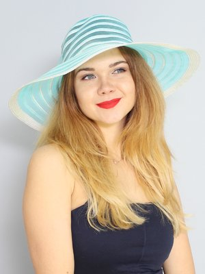 Шляпа голубая   3298288