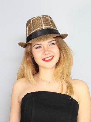 Шляпа коричневая   3328560