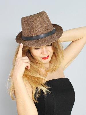 Шляпа коричневая | 3328626